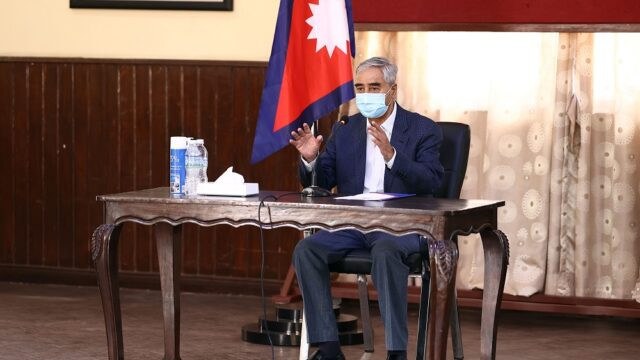 PM Deuba directs for timely vaccination against COVID-19 to all citizens