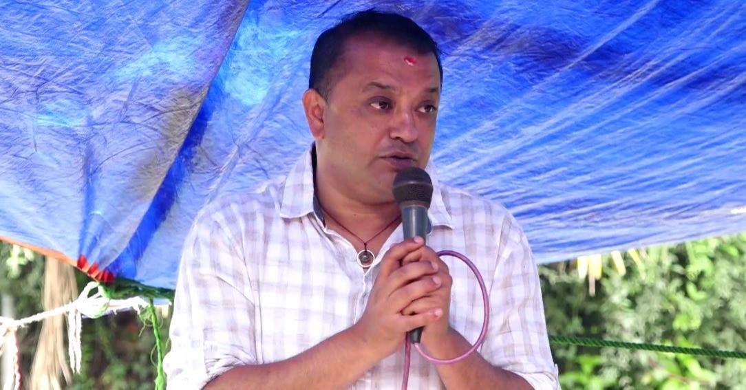 Gagan Thapa announces candidature for party General Secretary